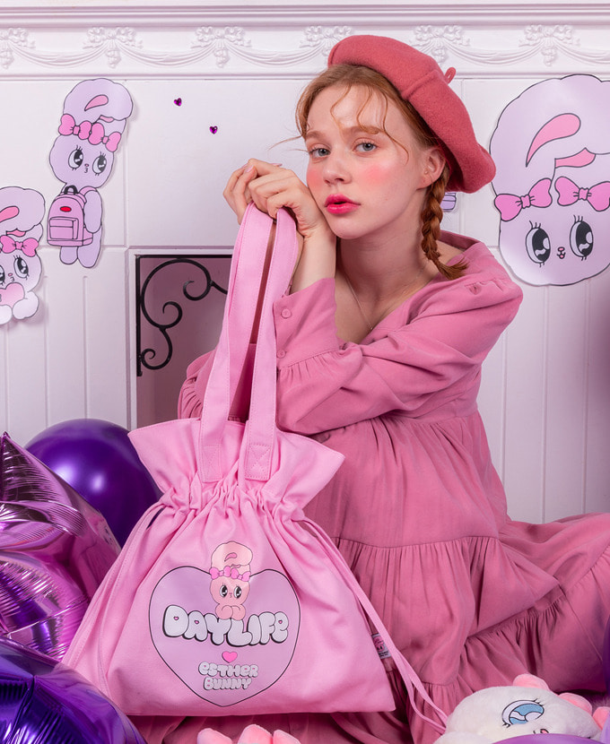 ★NEW COLLABORATION★デイライフ♥エスダバニー BIG HEART LUCKY BAG(PINK)