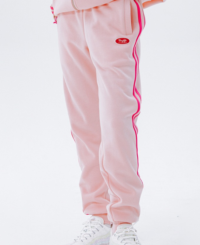 [20FW NEW]DAYLIFE LINE SWEAT PANTS (PINK)