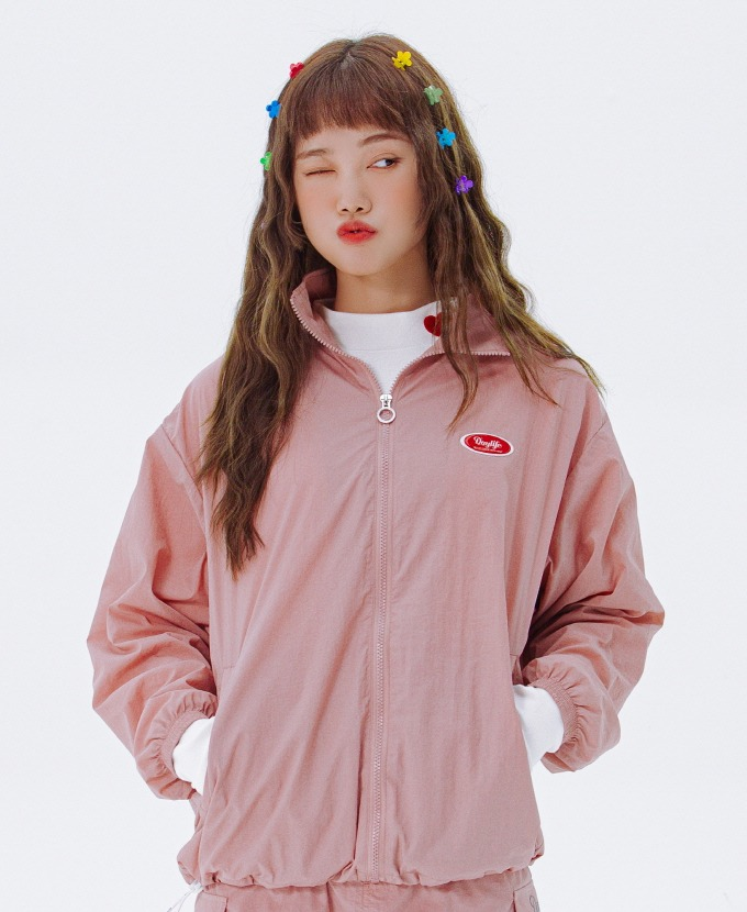 [20FW NEW]DAYLIFE REFLECTIVE JACKET (PINK)