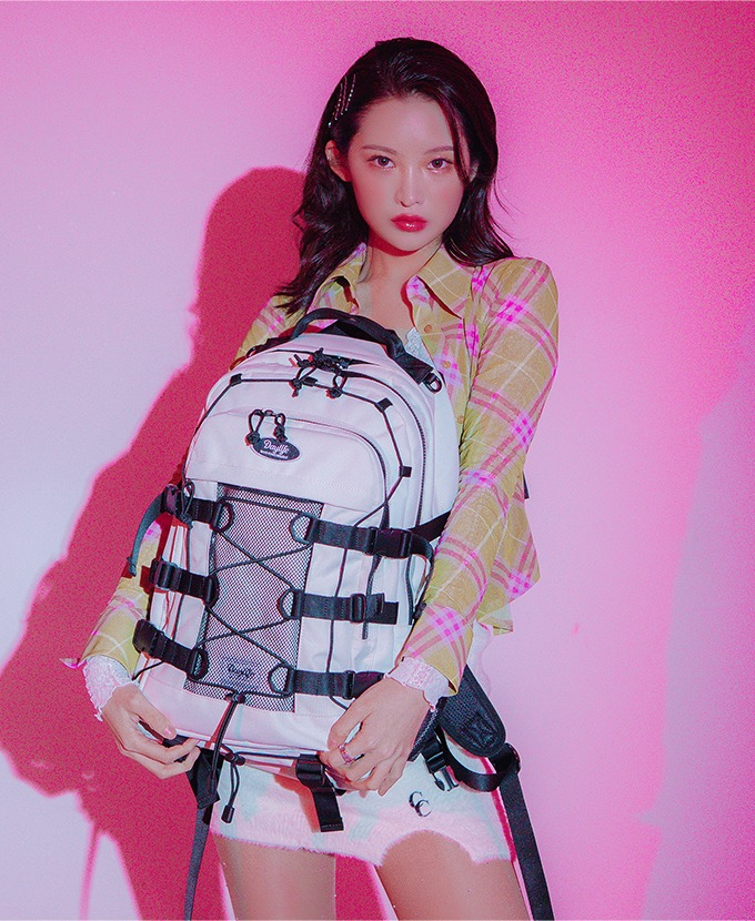 2021新規リュック発売DAYLIFE DOUBLE STRING BACKPACK (IVORY)