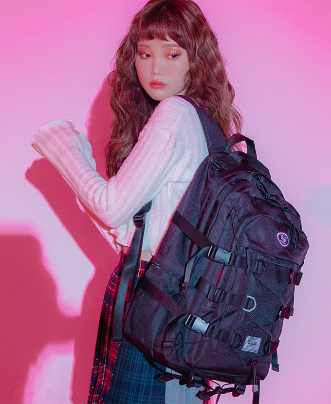 2021新規リュック発売DAYLIFE DOUBLE STRING BACKPACK (BLACK)